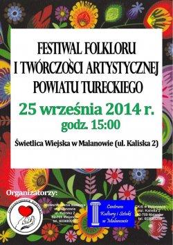 Festiwal Folkloru i Tw�rczo�ci Artystycznej Powiatu Tureckiego