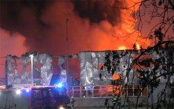 Miasto Turek: Wideo: Sp�on�a hala produkcyjna w zak�adach Mirandy w Turku