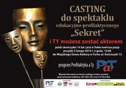 PaT w Turku. Przyjd� na casting, zagraj w spektaklu